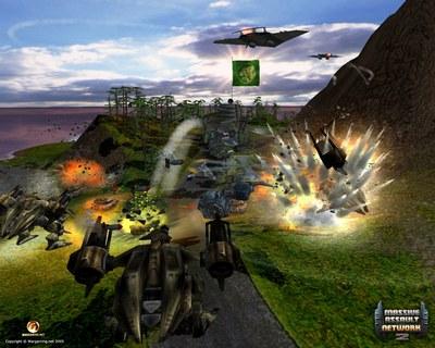 Screenshot af Massive Assault Network 2