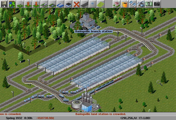 Screenshot af Simutrans