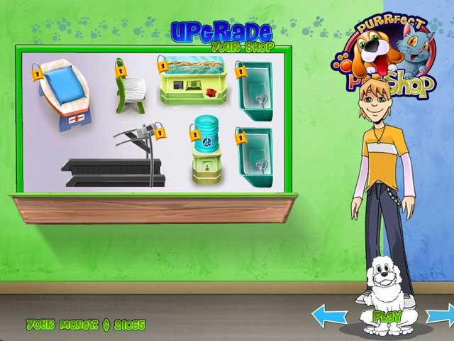 Screenshot af Purrfect Pet Shop