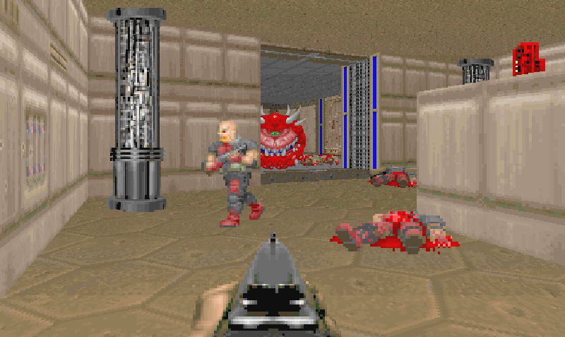 Screenshot af Doom