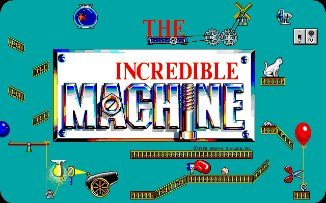 Screenshot af The Incredible Machine