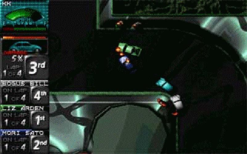 Screenshot af Death Rally