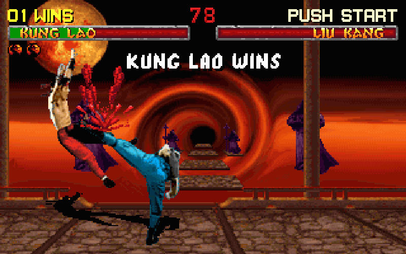 Screenshot af Mortal Kombat