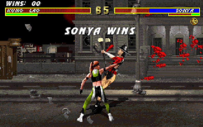 Screenshot af Mortal Kombat 3