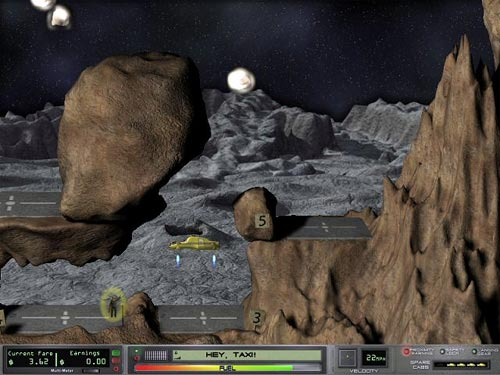 Screenshot af Space Taxi 2