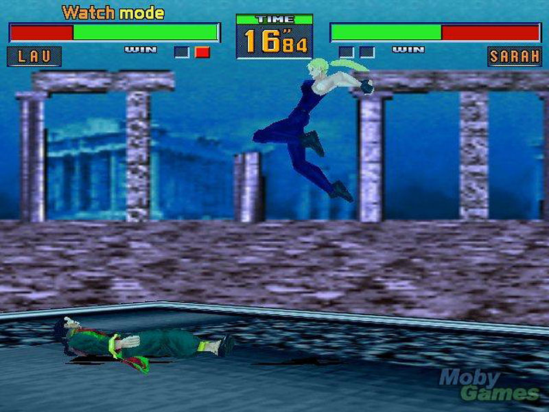 Screenshot af Virtua Fighter