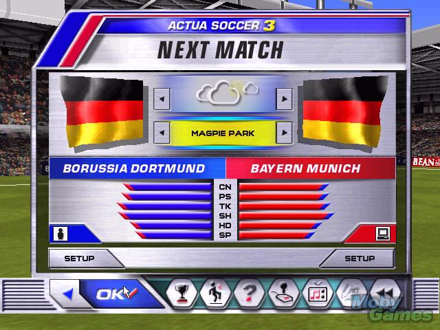 Screenshot af Actua Soccer