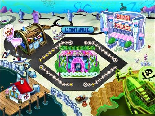 Screenshot af SpongeBob Diner Dash
