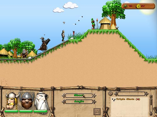 Screenshot af Tale of 3 Vikings