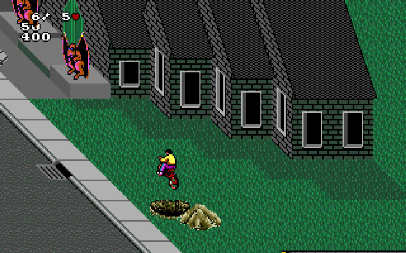 Screenshot af Paperboy