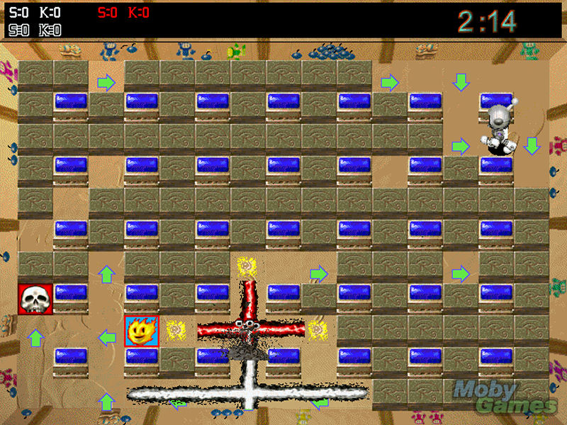 Screenshot af Atomic Bomberman