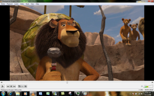 Screenshot af VLC Media Player