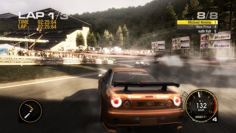 Screenshot af Race Driver GRID (TOCA)