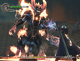 Screenshot af Devil May Cry 4
