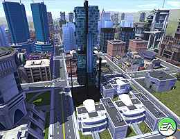 Screenshot af SimCity Societies