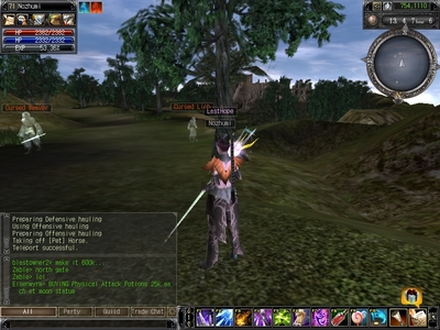 Screenshot af Last Chaos