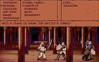 Screenshot af Vengeance of Excalibur