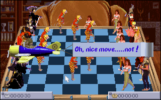 Screenshot af National Lampoon\'s Chess Maniac 5 Billion and 1