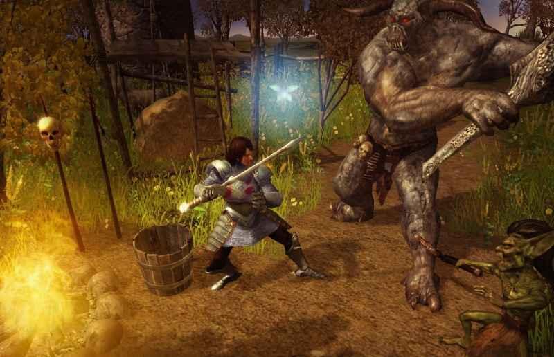 Screenshot af Legend: Hand of God