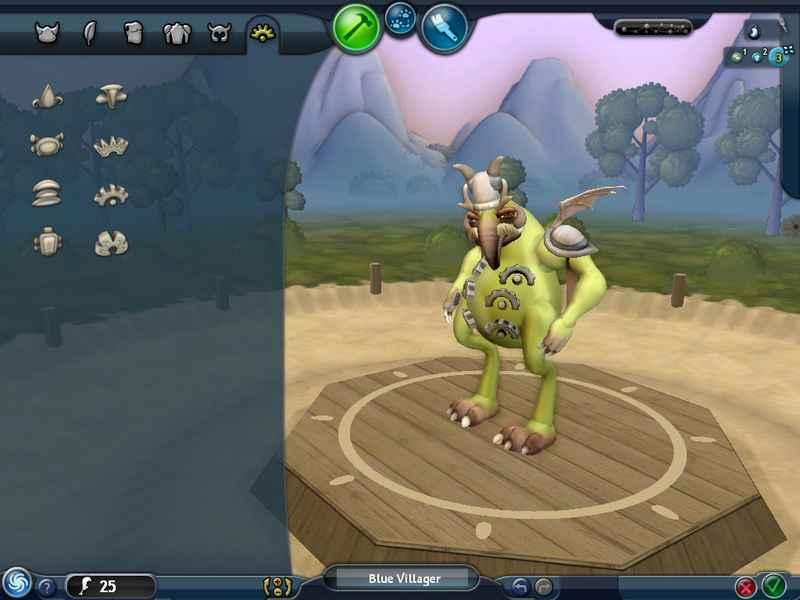 Screenshot af Spore Creature Creator