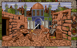 Screenshot af Conan - The Cimmerian