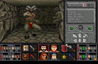 Screenshot af Black Crypt