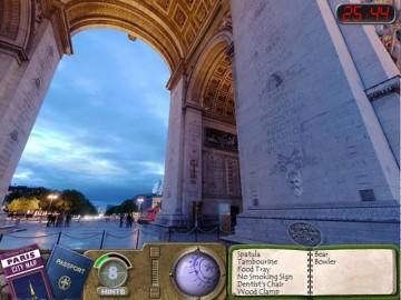 Screenshot af Travelogue 360: Paris