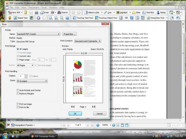 Screenshot af PDF Converter