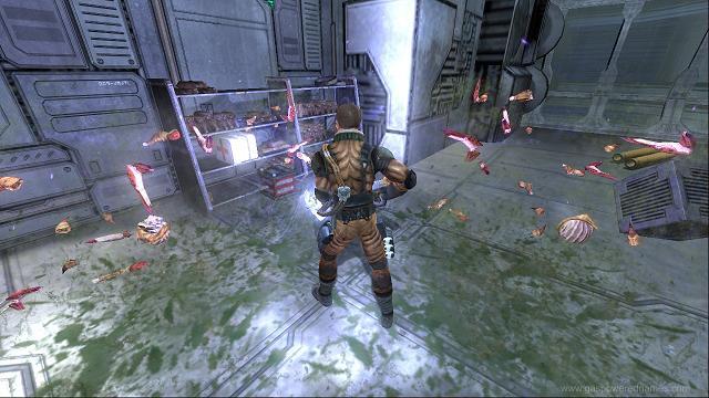 Screenshot af Space Siege
