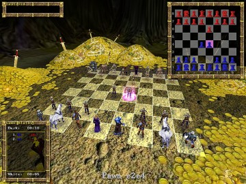 Screenshot af War Chess