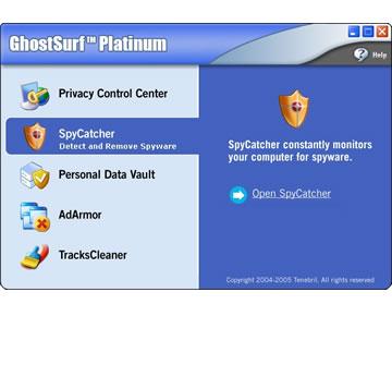 Screenshot af GhostSurf Platinum