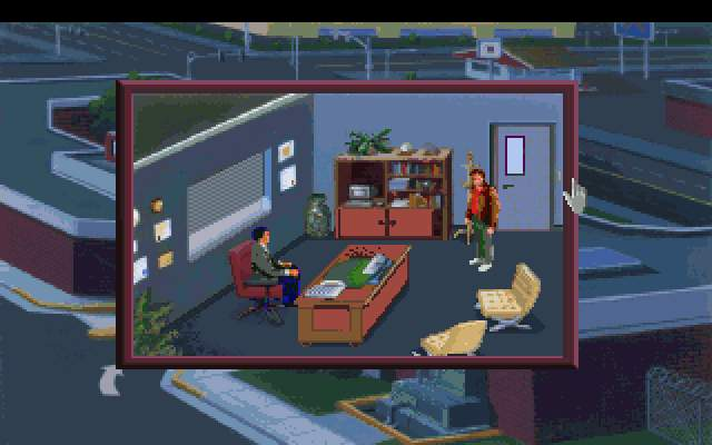 Screenshot af Police Quest - In Pursuit of the Death Angel (VGA Remake)