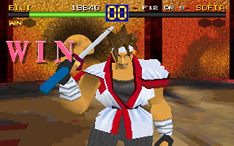 Screenshot af Battle Arena Toshinden
