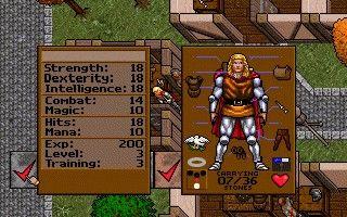 Screenshot af Ultima 7 Part 1 - The Black Gate