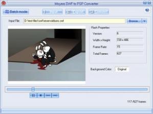 Screenshot af Moyea SWF to iPod Converter