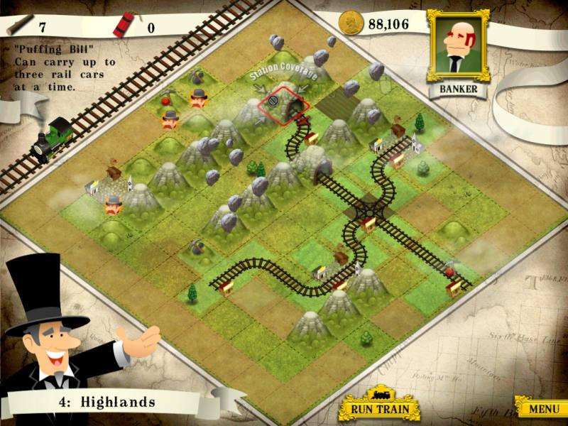 Screenshot af Loco Mogul