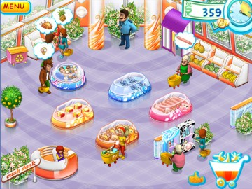 Screenshot af Supermarket Mania