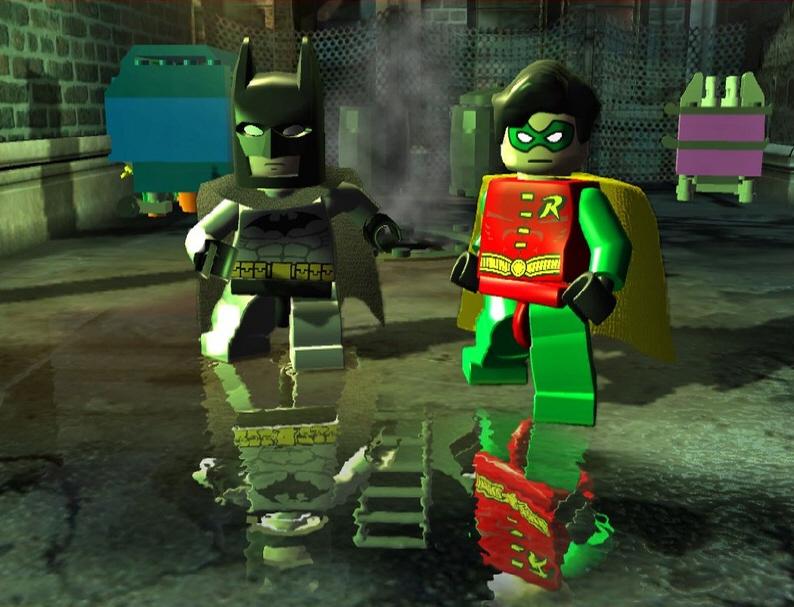 Screenshot af LEGO Batman: The Videogame