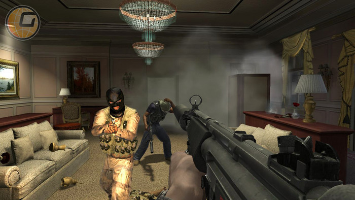 Screenshot af James Bond: Quantum of Solace