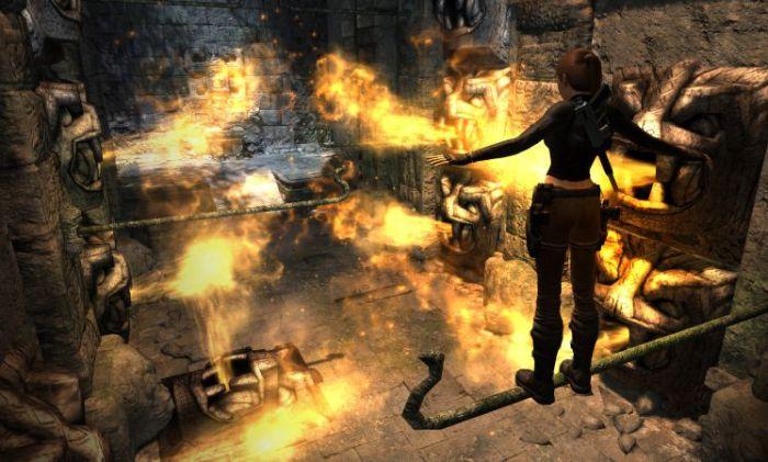 Screenshot af Tomb Raider: Underworld