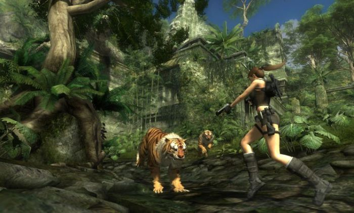 Screenshot af Tomb Raider: Underworld