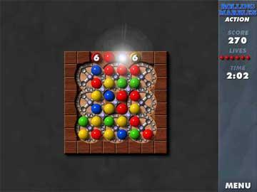 Screenshot af Rolling Marbles
