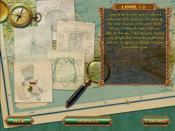 Screenshot af Treasures of Montezuma