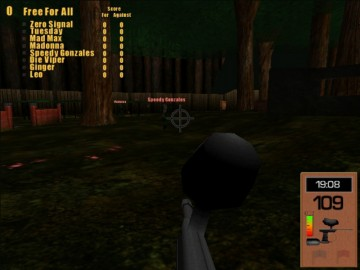 Screenshot af Digital Paintball