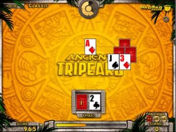 Screenshot af Ancient Tripeaks