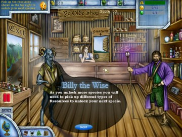 Screenshot af Magical Forest