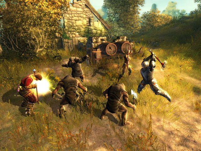 Screenshot af Drakensang: The Dark Eye