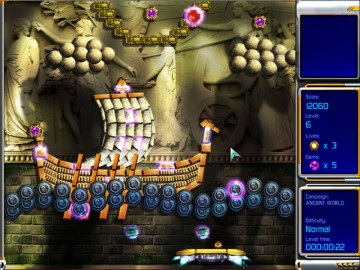 Screenshot af Hyperballoid 2