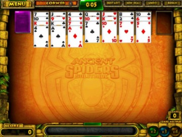 Screenshot af Ancient Spiders Solitaire