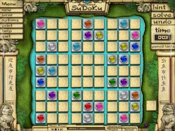 Screenshot af Ancient Sudoku